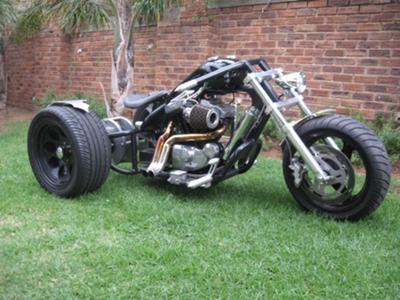 Custom Buuell Trike