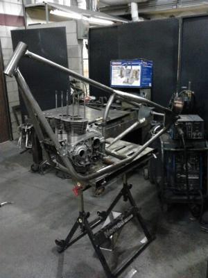 bike frame fabrication