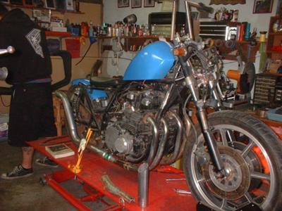 Kawasaki During Build