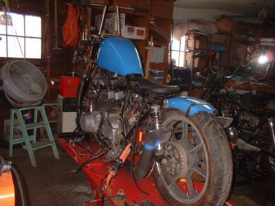 79 Kawasaki Rear