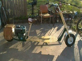 Home Made Scooter