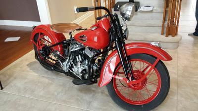 1941 Harley Davidson
