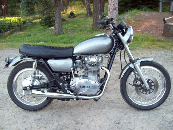 fully restored motorcycle