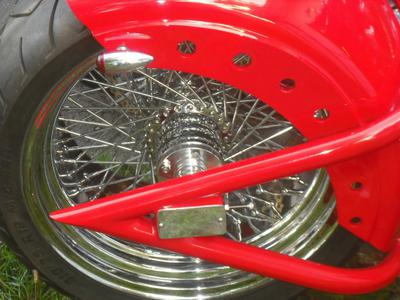 80 spoke 21 billet front wheel