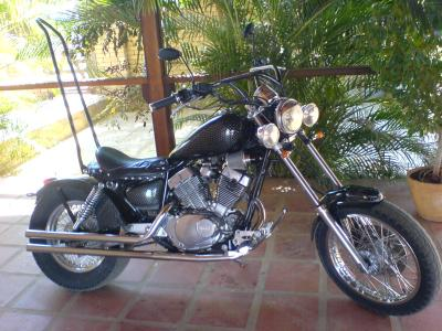 Custom Virago 250