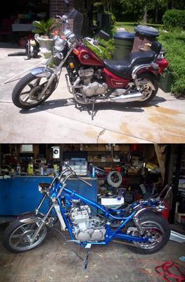 Vulcan 500 Custom  Motorcycle