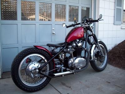 Yamaha XS Bobber