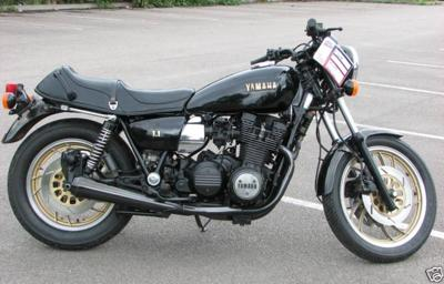 Classic Yamaha Racing Bike